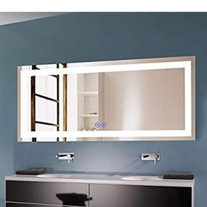 Decoraport 70 x 32 Horizontal Dimmable LED Mirror